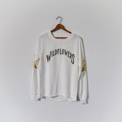 Tom Petty Wildflowers Worn Pullover - Ivory