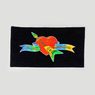 Tom Petty Logo Beach Towel