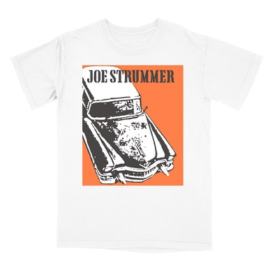 Joe Strummer Gangsterville White Tee