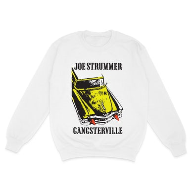 Joe Strummer Gangsterville White Sweatshirt
