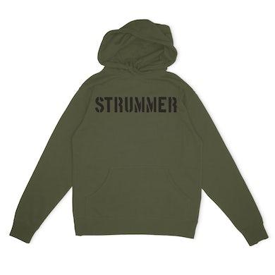 Joe Strummer Strummer Stencil Hoodie