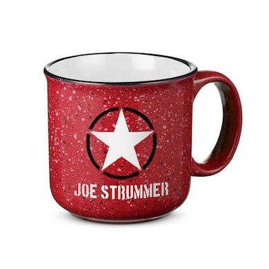 Joe Strummer Red Campfire Mug