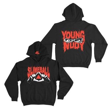 Young Nudy Slimeball Black Hoodie