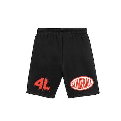Young Nudy 4L Slimeball Black Shorts