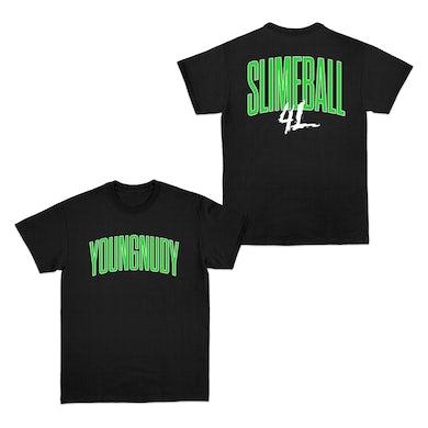 Young Nudy Slimeball 4L Black T-Shirt