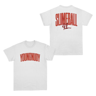 Young Nudy Slimeball 4L White T-Shirt