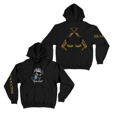 Young Nudy Rich Shooter Black Hoodie