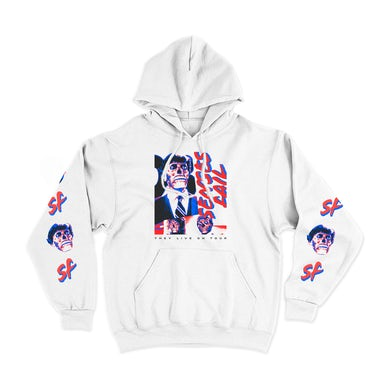 They Live On Tour White Hoodie