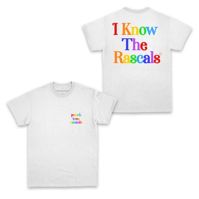 Peach Tree Rascals I Know the Rascals Pride Charity T-Shirt