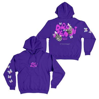 Dro Kenji F*CK Your Feelings Purple Hoodie