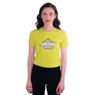"NEGATIVE GEMINI Neggy Gemmy by XGemmy Green Star logo ""Neggy Gemmy"" Baby T-shirt"