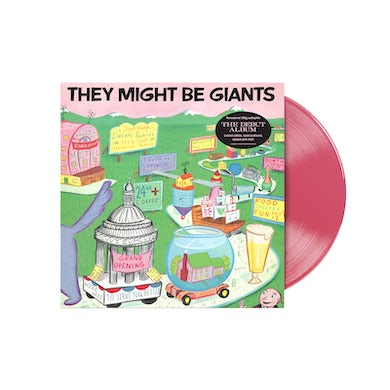 They Might Be Giants First Album Re-Issue Vinyl