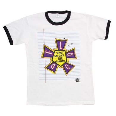 They Might Be Giants Flood shirt on White (Youth)