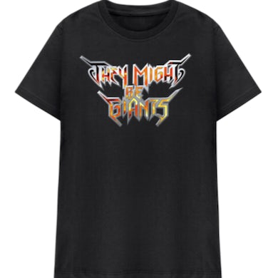 They Might Be Giants Heavy Metal Logo (Unisex)