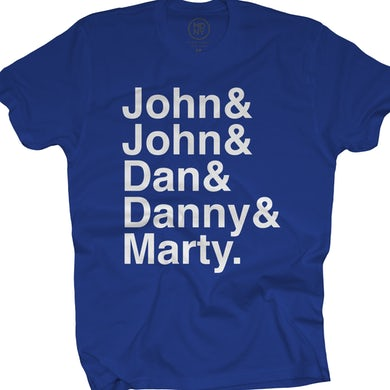 They Might Be Giants Names on Cobalt Blue (Unisex)