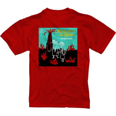 They Might Be Giants Science is Real Red T-Shirt (Youth)
