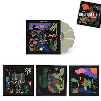 Jose Gonzalez [PRE-ORDER // BUNDLE] Local Valley CD Digipack + 3 Art Prints (signed by José González)