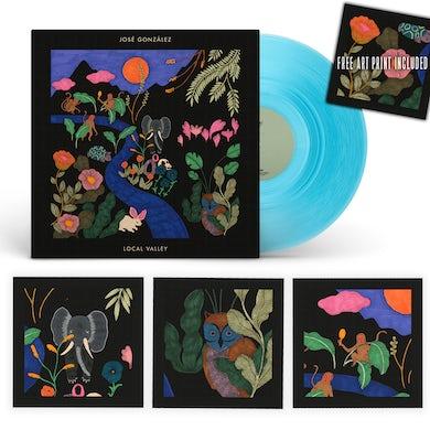 Jose Gonzalez [PRE-ORDER // BUNDLE] Local Valley LP Coloured Vinyl + 3 Art Prints (signed by José González)