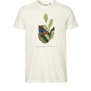 Owl T-shirt Nature White