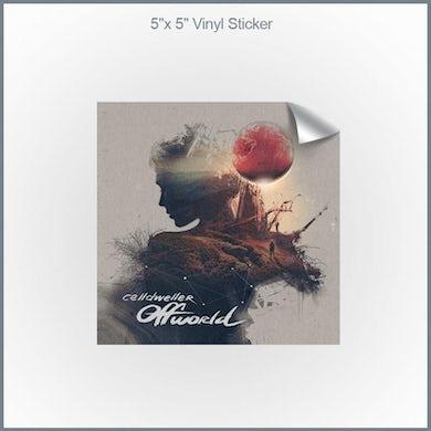 "Celldweller - Offworld 5x5"" Vinyl Sticker"