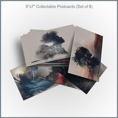 """Celldweller - Offworld 5""""x7"""" 8-Postcard Set"""