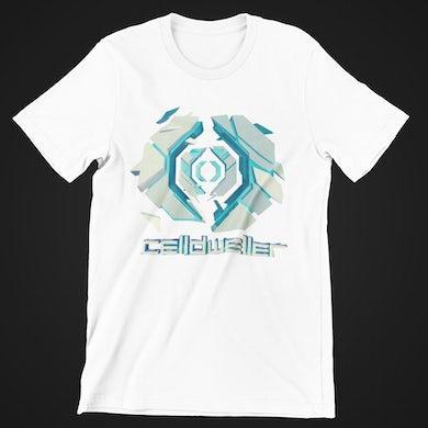 Celldweller - Gateway T-Shirt (Blue on White)