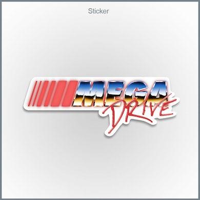 Mega Drive - Chrome Logo Sticker