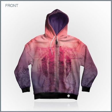 The Light All-Over Print Zip-Up Hoodie