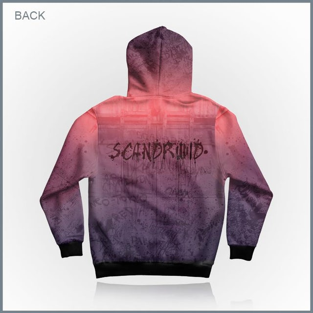 Scandroid - The Light All-Over Print Zip-Up Hoodie