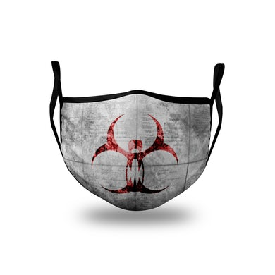 Circle of Dust - Red Contagion Logo Mask