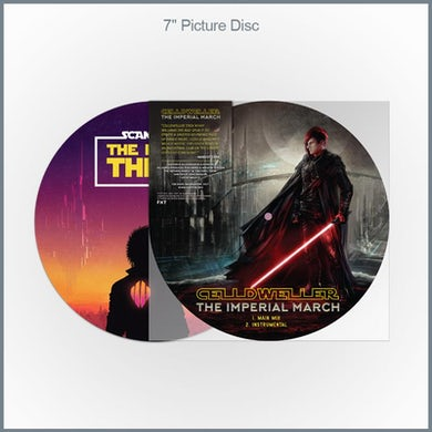"""Celldweller/Scandroid - Star Wars Covers 7"""" Picture Vinyl"""
