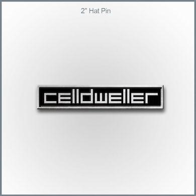 """Celldweller - 2"""" Silver Color Logo Pin"""
