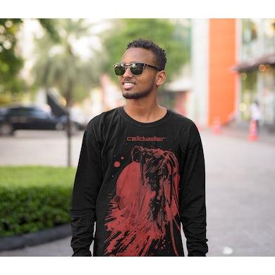Celldweller - Blood Moon Long Sleeve Hooded T-Shirt