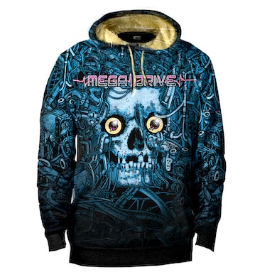 Mega Drive - 198XAD All-Over Print Pull Over Hoodie