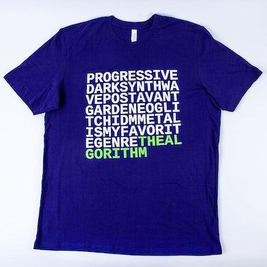 The Algorithm - Purple Genre T-Shirt