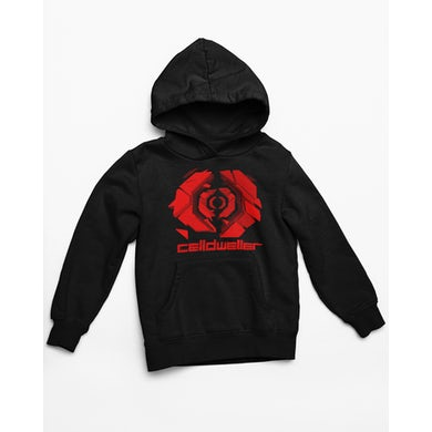 Celldweller - Gateway Hoodie (Red on Black)