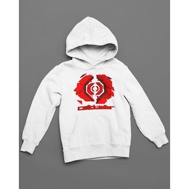 Celldweller - Gateway Hoodie (Red on White)