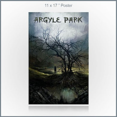 """Circle of Dust Argyle Park - Misguided 11x17"""" Poster"""