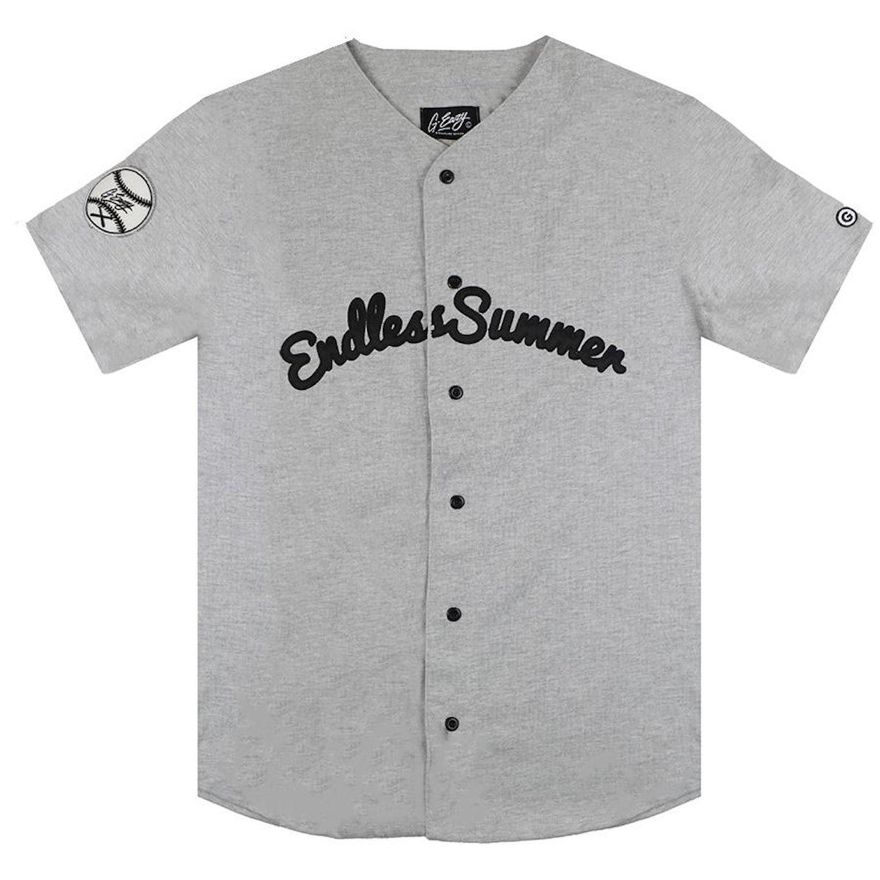 huge discount 98909 b6ff6 G-Eazy Endless Summer Baseball Jersey (Gray)