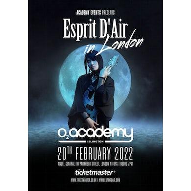 Esprit D'Air at O2 Academy Islington London - 20 February 2022 Tickets