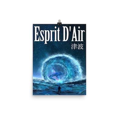 Esprit D'Air 津波 ('Tsunami') Poster