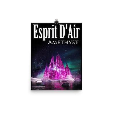 Esprit D'Air Amethyst Poster