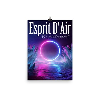 Esprit D'Air 10th Anniversary Live Poster