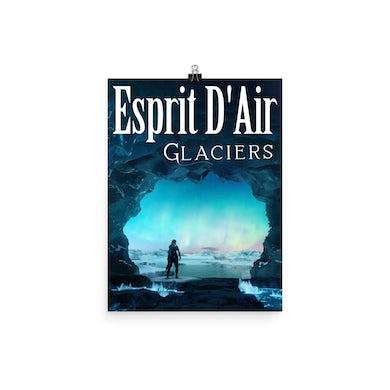 Esprit D'Air Glaciers Poster