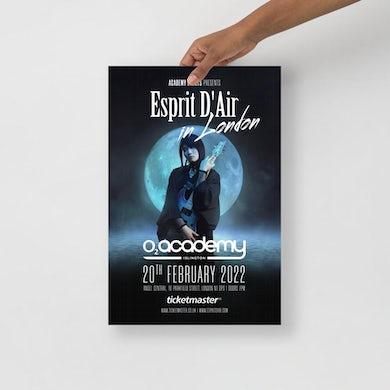 Esprit D'Air - O2 Academy Islington Poster