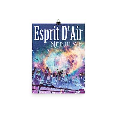 Esprit D'Air Nebulae Poster
