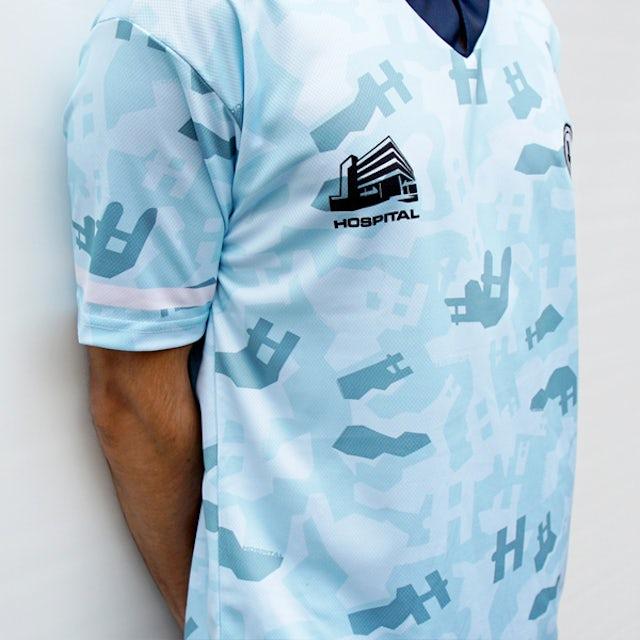 Hospital Records Football Shirt - Blue
