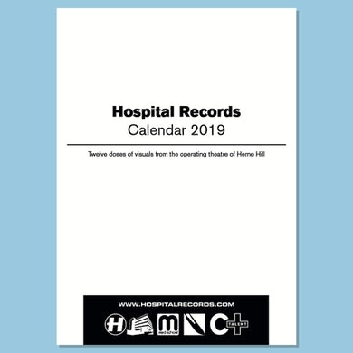 Hospital Records Wall Calendar 2019