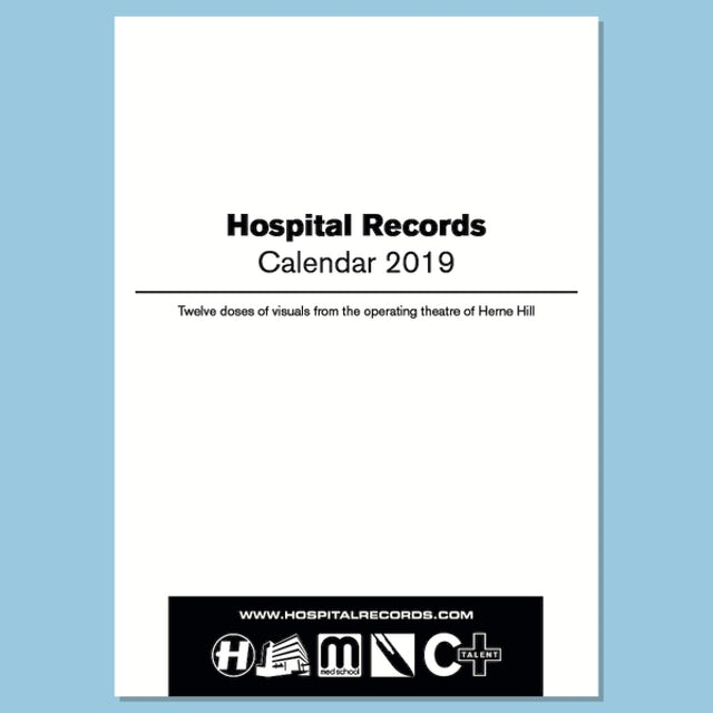 Hospital Records Wall Calendar 2019