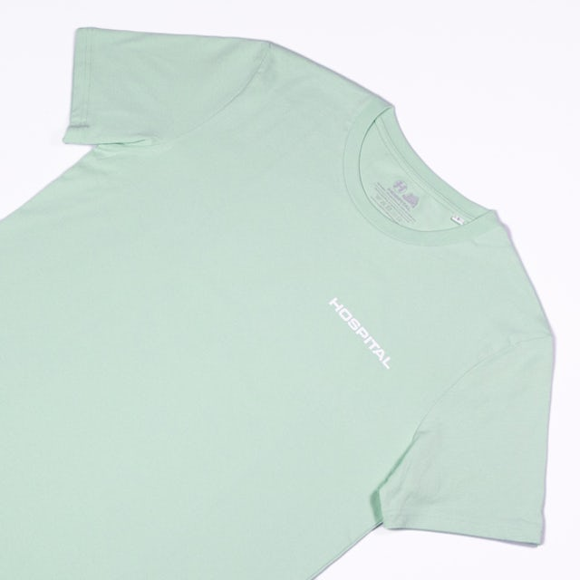 Hospital Records Essential Tee - Mint Green
